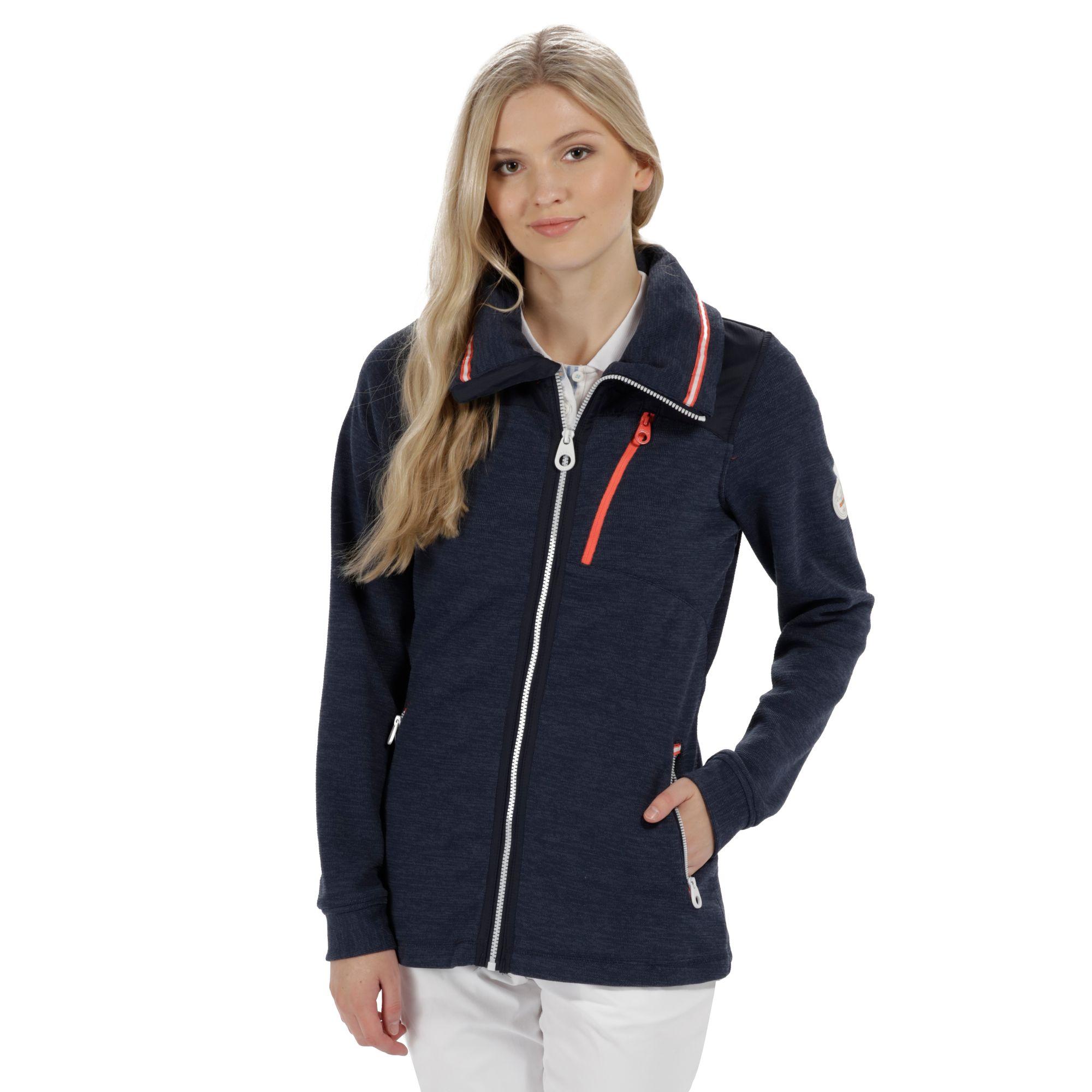 Regatta Cadwyn Womens Warm Mid Weight Windproof Full Zip Fleece Jacket RRP £60